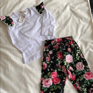 Cute Two Piece Toddler Set